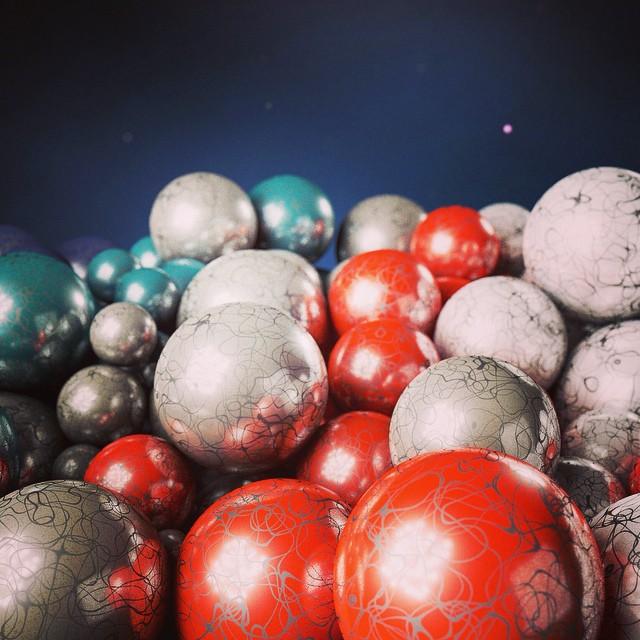 #cg #reflectance #spheres
